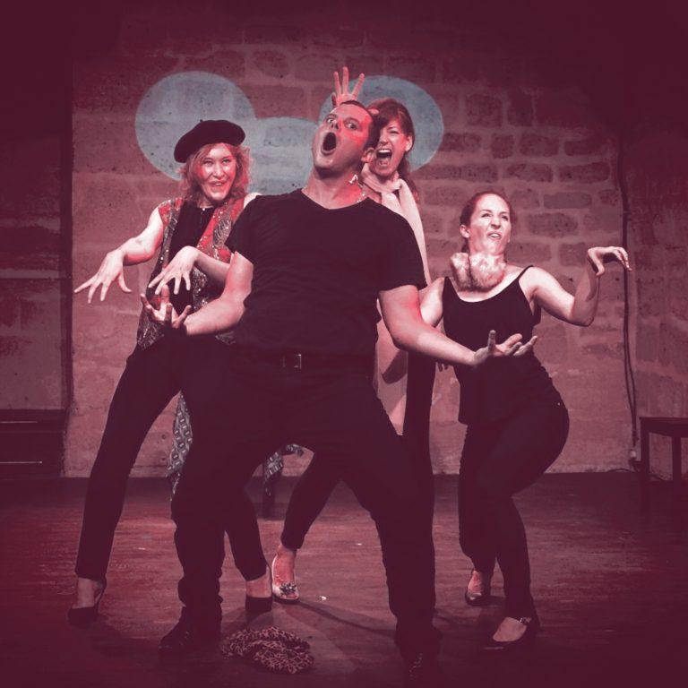 Les Espaces Culturels Thann-Cernay - Salle Relais Culturel - New - Caramba spectacles - comédie musicale improvisée - samedi 30 novembre 2019