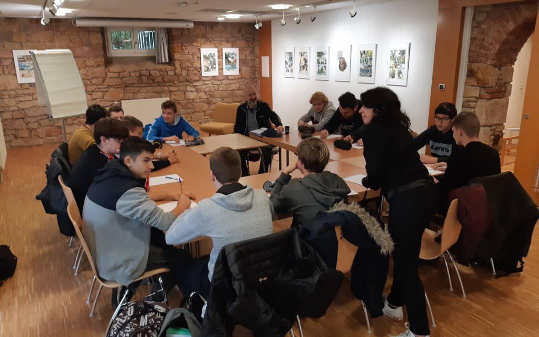 Ateliers d'écriture et de théâtre autour de Capital Risque