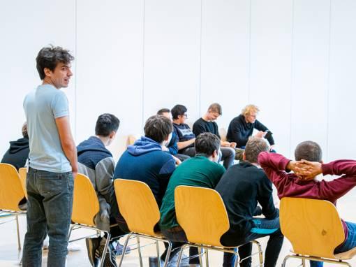 Ateliers d'écriture et de théâtre autour de Capital Risque – Jour 3
