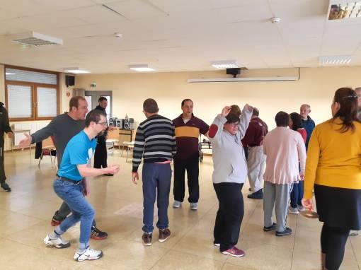 Ateliers théâtreaux avec les résidents de l'Etablissement St Joseph