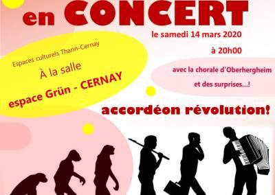 Concert – Rouff'ACC orchestra – Accordéon révolution
