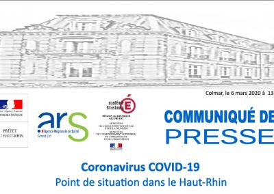 Coronavirus – arrêté préfectoral du 6 mars 2020