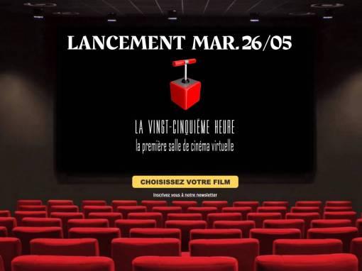🎥 Le E-cinéma à portée de clic avec la 25e heure ! 💻