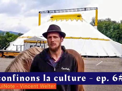 📹 Déconfinons la culture [EP 6#] – Interview – Cie EquiNote – Vincent Welter