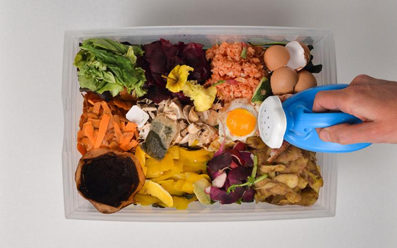 Illustration : compostage