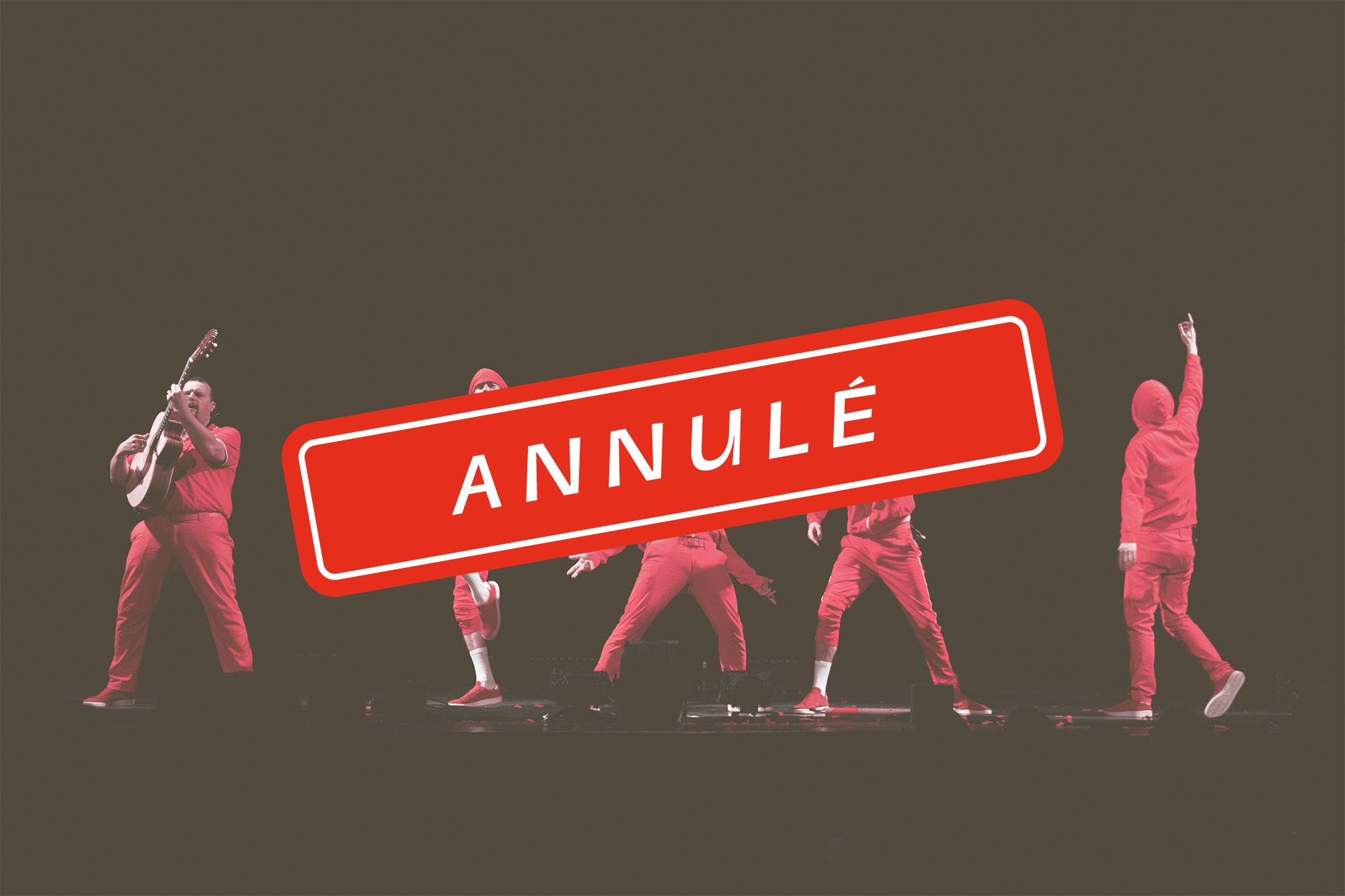 Complètement red – Les Wriggles [Annulé]