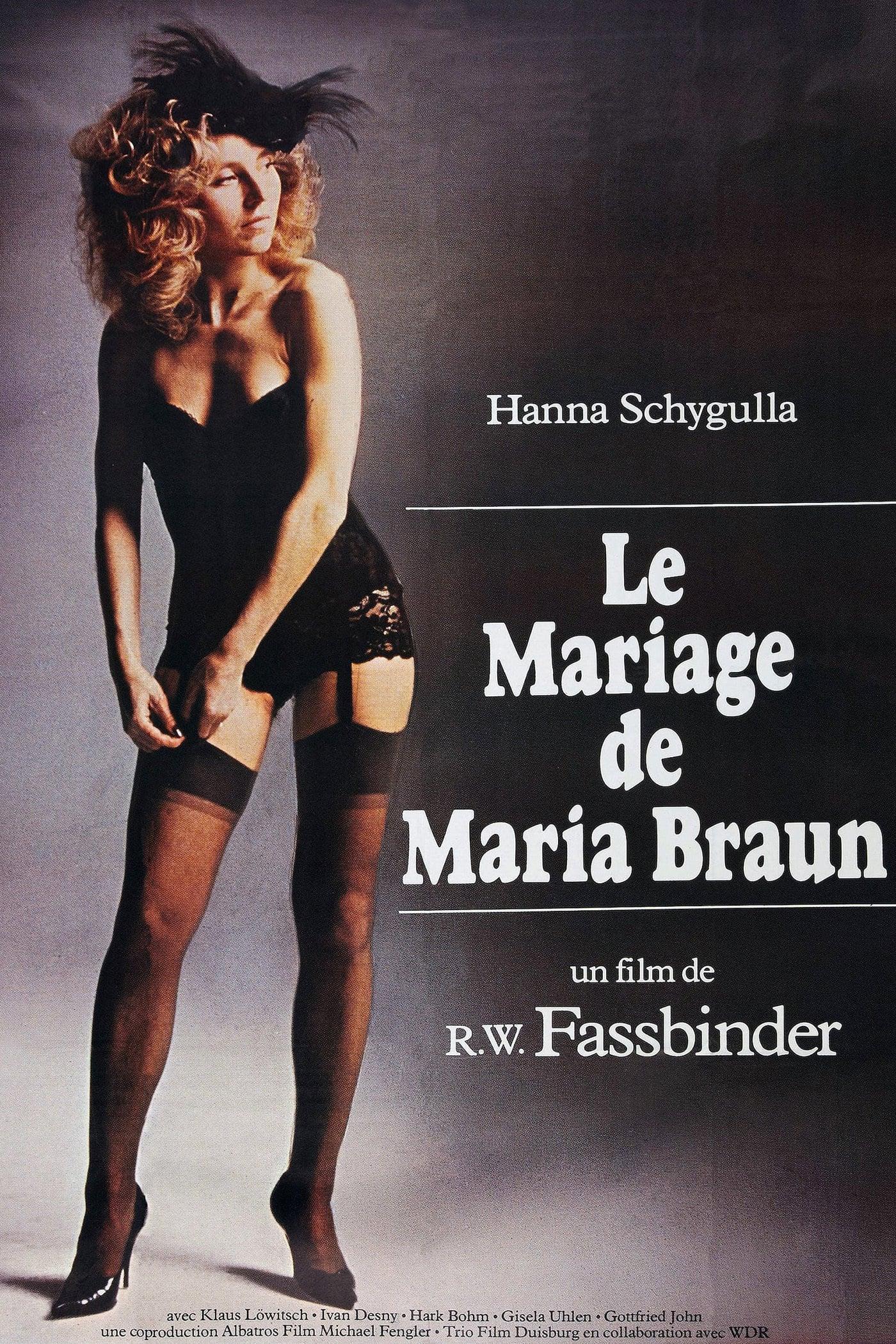 Le mariage de Maria Braunv