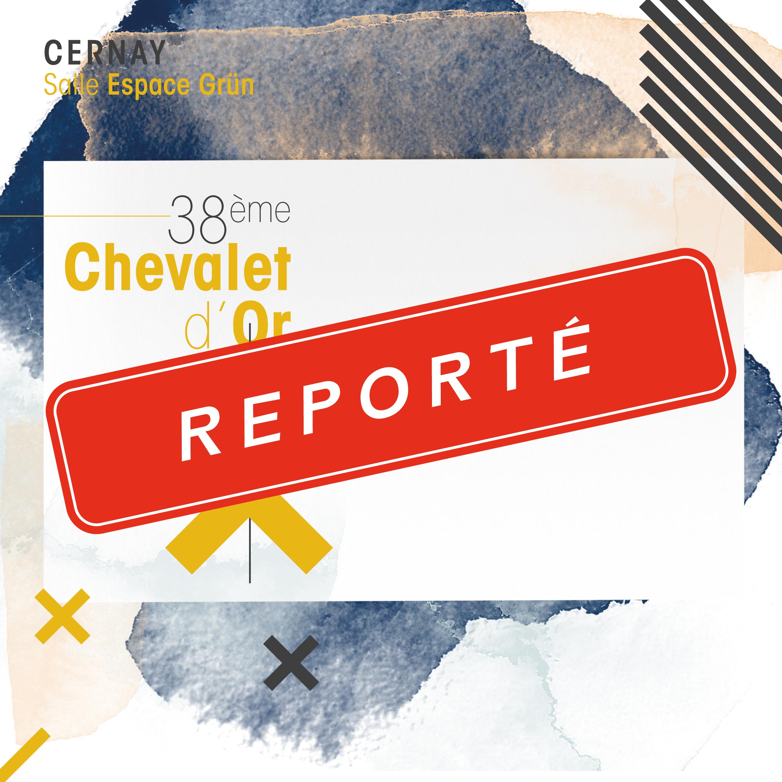 Chevalet d'Or [38e édition] [REPORTÉ]