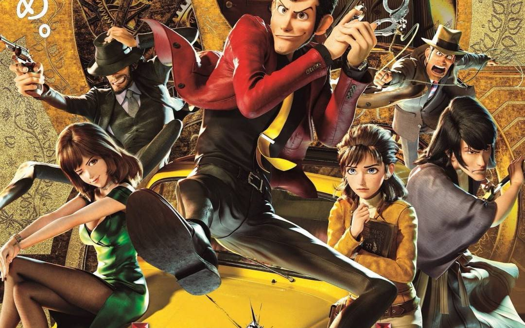 "Affiche du film ""Lupin 3 : The First"""