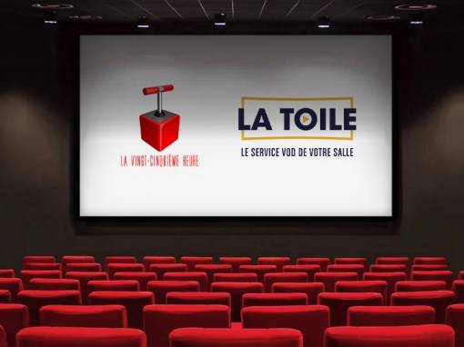 🎥 Le E-cinéma à portée de clic avec la 25e heure et La Toile (nouveau) ! 💻