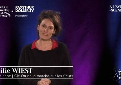🌟 À l'Avent-scène [EP 5#] – Interview – Emilie WIEST – Cie On nous marche sur les fleurs