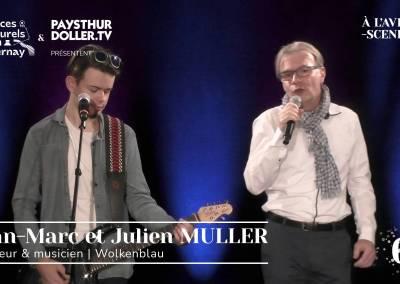 🌟 À l'Avent-scène [EP 6#] – Interview – Jean-Marc et Julien MULLER – Wolkenblau