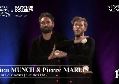🌟 À l'Avent-scène [EP 18#] – Interview – Julien MUNCH & Pierre MARLIN – Cie des NAZ