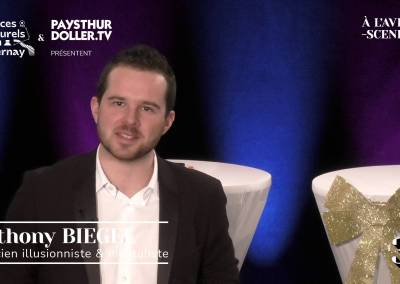 🌟 À l'Avent-scène [EP 3#] – Interview –  Anthony BIEGEL – Magicien  illusionniste & mentaliste