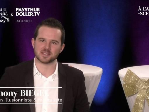🌟 À l'Avent-scène [EP 3#] – Interview –  Anthony BIEGEL – Magicien  illusionniste & mentaliste
