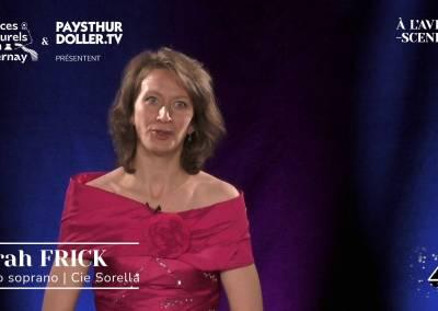 🌟 À l'Avent-scène [EP 4#] – Interview – Sarah FRICK – Cie Sorella