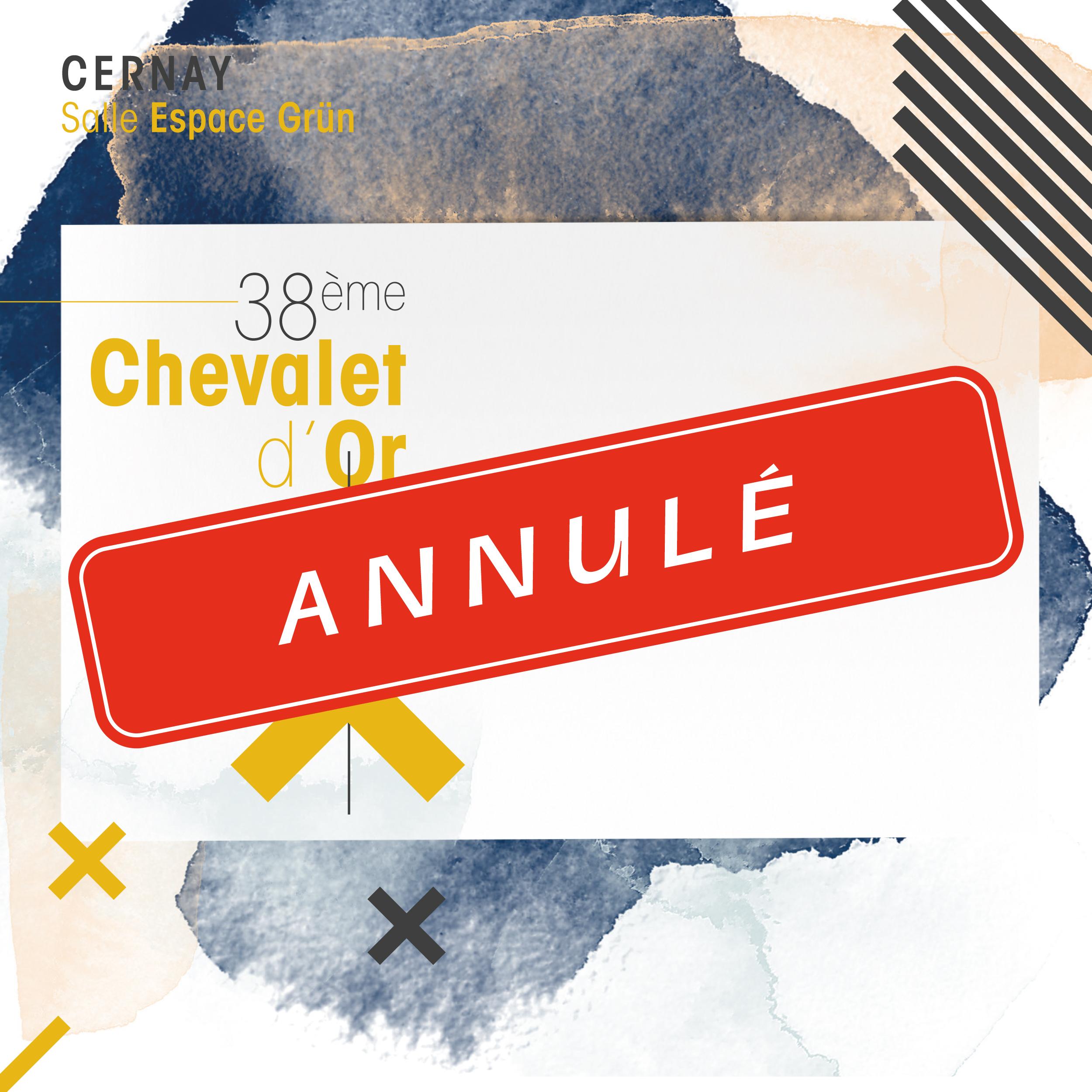 Chevalet d'Or [38e édition] [Annulé]