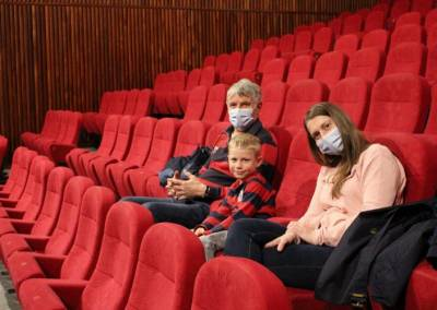 📰  À Cernay, un retour au cinéma en famille